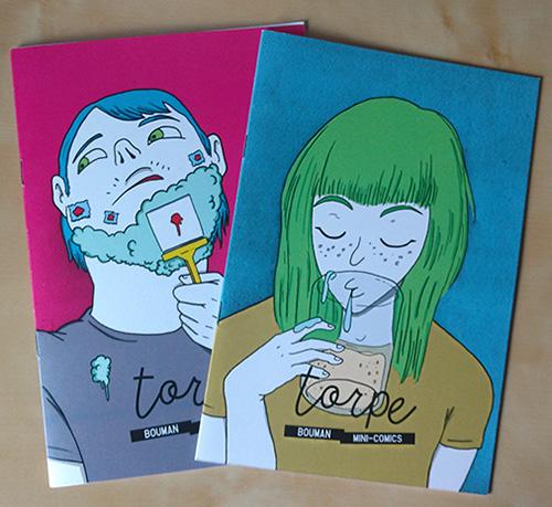 fanzines de cómic torpe de Bouman